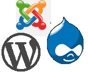 drupal-wordpress-joomla-cms